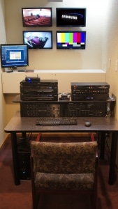Refitted Media Room