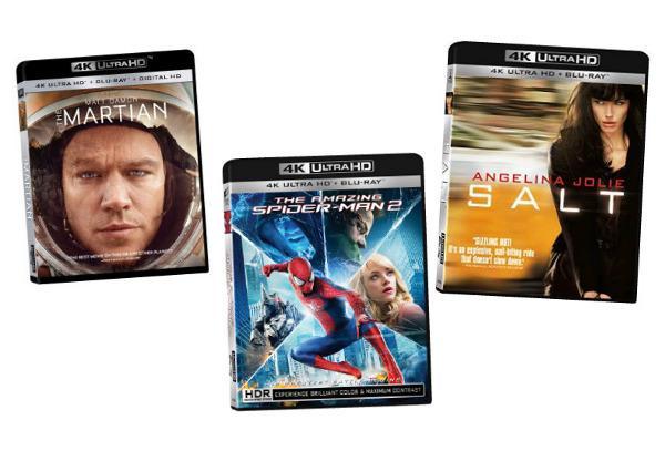 4K Ultra HD Discs